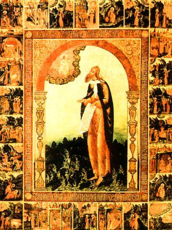 Пророк Илия с деяниями