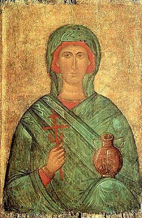 Великомученица Анастасия Узорешительница