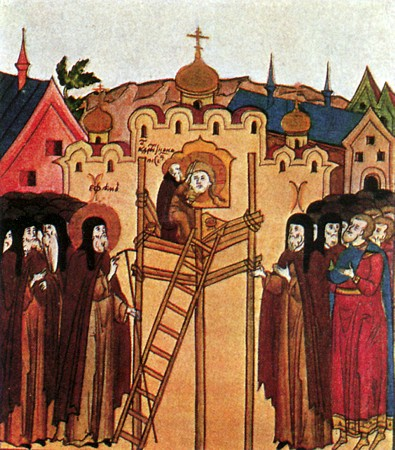 Архитектура и живопись в 1416 веках