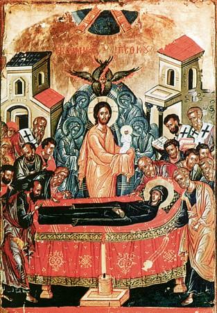 Adormirea Preasfintei Născătoare de Dumnezeu şi pururea Fecioarei Maria