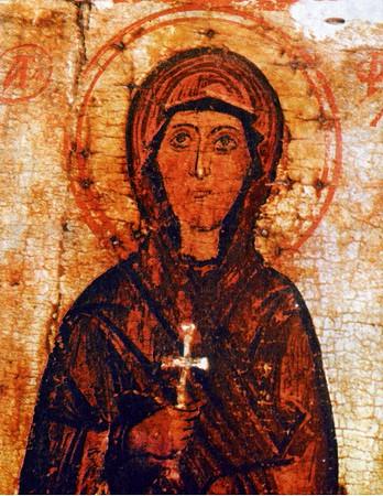 Sfînta Muceniţă cea întocmai cu Apostolii, Tecla