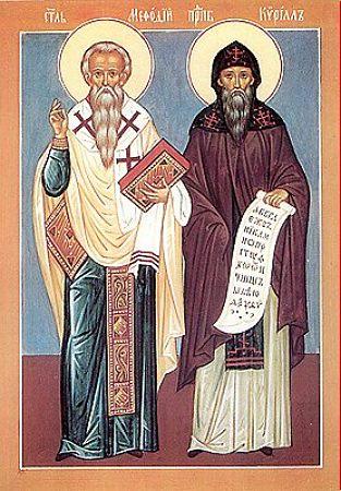 Cuvioşii Părinţi, întocmai cu apostolii, Chiril şi Metodie