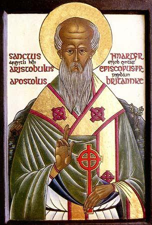 Sfîntul Apostol Aristobul, Episcopul Britaniei