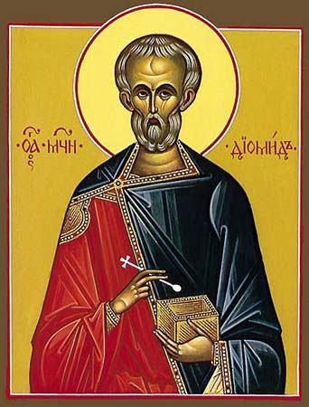 Sfîntul Mucenic Diomid doctorul