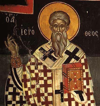 Sfîntul Mucenic Ierotei, Episcopul Atenei
