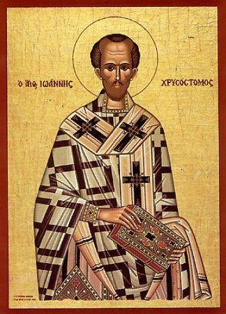 Sfîntul Ierarh Ioan Gură de Aur, Patriarhul Constantinopolului