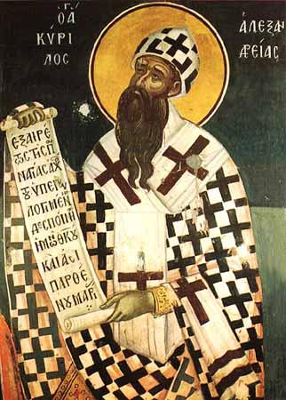 Sfîntul Chiril, patriarh de Alexandria