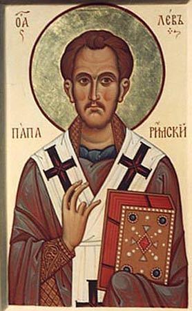 Sfîntul Leon, Papă al Romei
