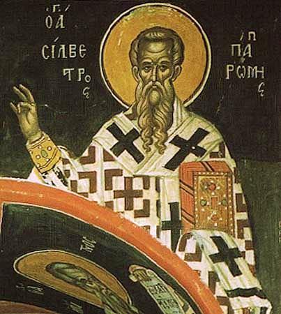 Sfîntul Ierarh Silvestru, Episcopul Romei