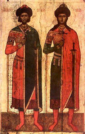 Князья страстотрпцы Борис и Глеб