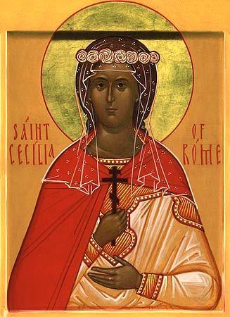 Sfînta Muceniţă Cecilia
