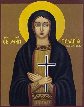 Sfînta Muceniţă Pelaghia fecioara