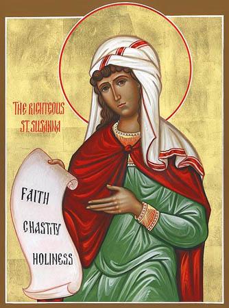 Sfînta Muceniţă Susana