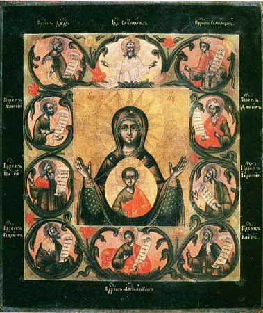Икона Божией Матери ''Знамение'' Курская Коренная
