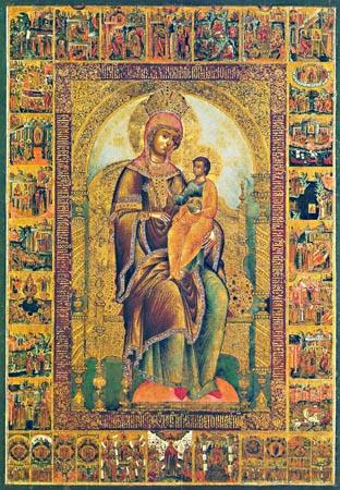 icoana Maicii Domnului Panachrana din Cipru