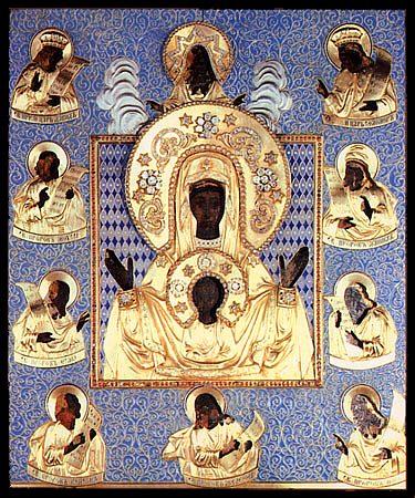 Икона Божией Матери Курская-Коренная