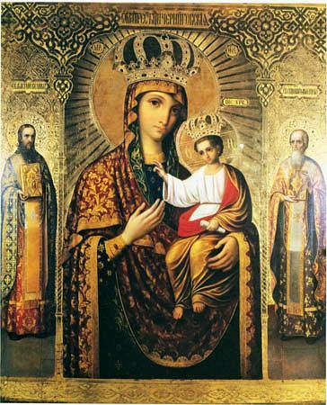 Икона Божией Матери Черниговская-Гефсиманская