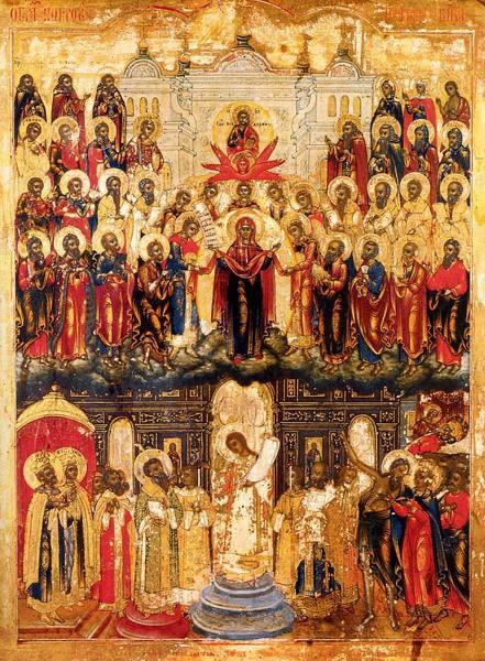 Acoperămîntul Preasfintei Născătoare de Dumnezeu