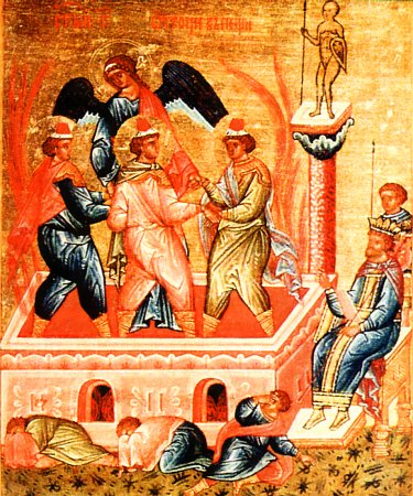 Sfinţii Prooroci Daniil, Anania, Azaria şi Misail