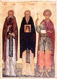Преподобные Савва, Стефан и мученик Савин