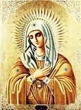 Икона Божией Матери Серафимо-Дивеевская