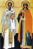 Святитель Симеон Иерусалимский и великомученица Екатерина