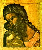 Праведный Симеон с Богомладенцем