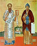 Святитель Савва Сербский и Симеон Мироточивый