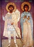 Великомученики Феодор и Ирина