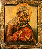 Икона Божией Матери 'Взыграние младенца'