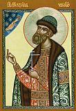 18 июня.  Память блаженного Игоря (Игнатия), Великого князя Черниговского и Киевского (* 1147) .