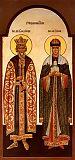 Равноапостольные князь Владимир и княгиня Ольга