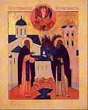 Преподобные Сергий и Герман Валаамски