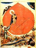 Огненное восхождение пророка Илии и пророк Елисей