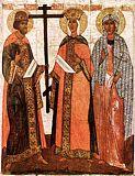 Святые Константин Елена и Агафия
