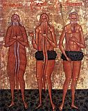 Преподобные Макарий Великий Онуфрий Великий и Петр Афонский