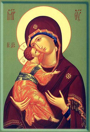 Празднование Владимирской иконы Пресвятой Богородицы