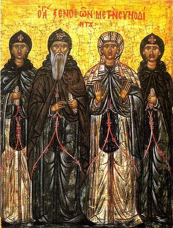 Saint Xénophon - orthodoxie.com