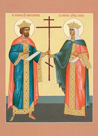 ib3318 Всемирното Православие - СВЕТИ  РАВНОАПОСТОЛНИ  КОНСТАНТИН  И  ЕЛЕНА