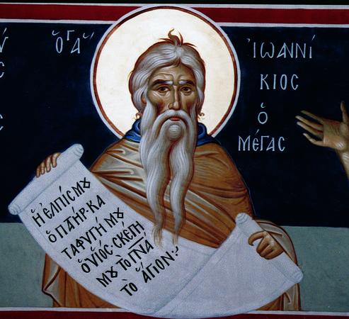 Прп. Иоанникий Великий