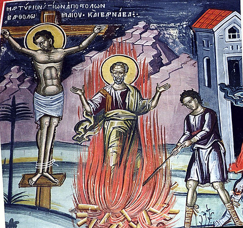 Святые апостолы Варфоломей и Варнава