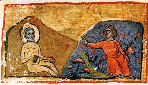 Праведный Иов и его жена