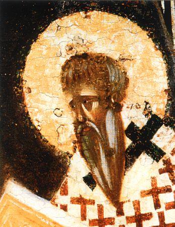 Saint hiéromartyr Hiérothée, évêque d'Athènes, (305)