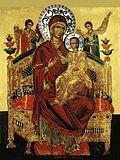 Иконы Божией Матери именуемой Всецарица.