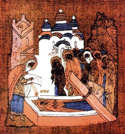 Погребение праведной Анны