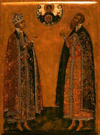 Димитрий Царевич и князь Роман Угличский