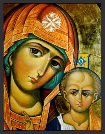 Икона Божией Матери Казанская