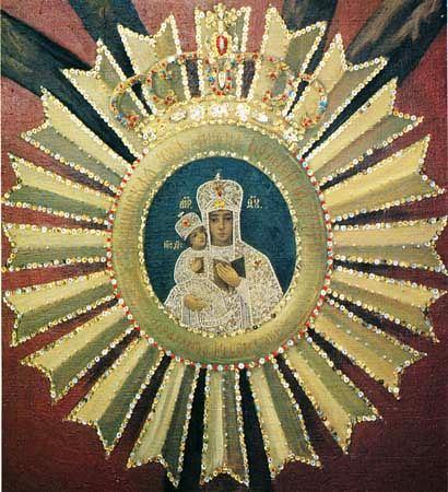 Икона Божией Матери Леснинская