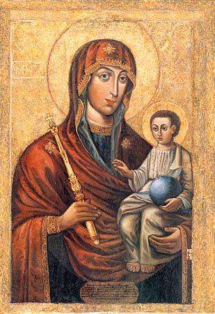 Икона Божией Матери Минская
