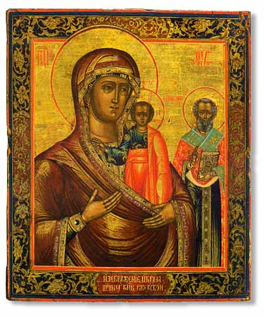 Икона Божией Матери Оковецкая-Ржевская